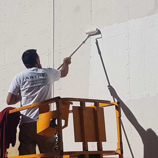 Préparation mur